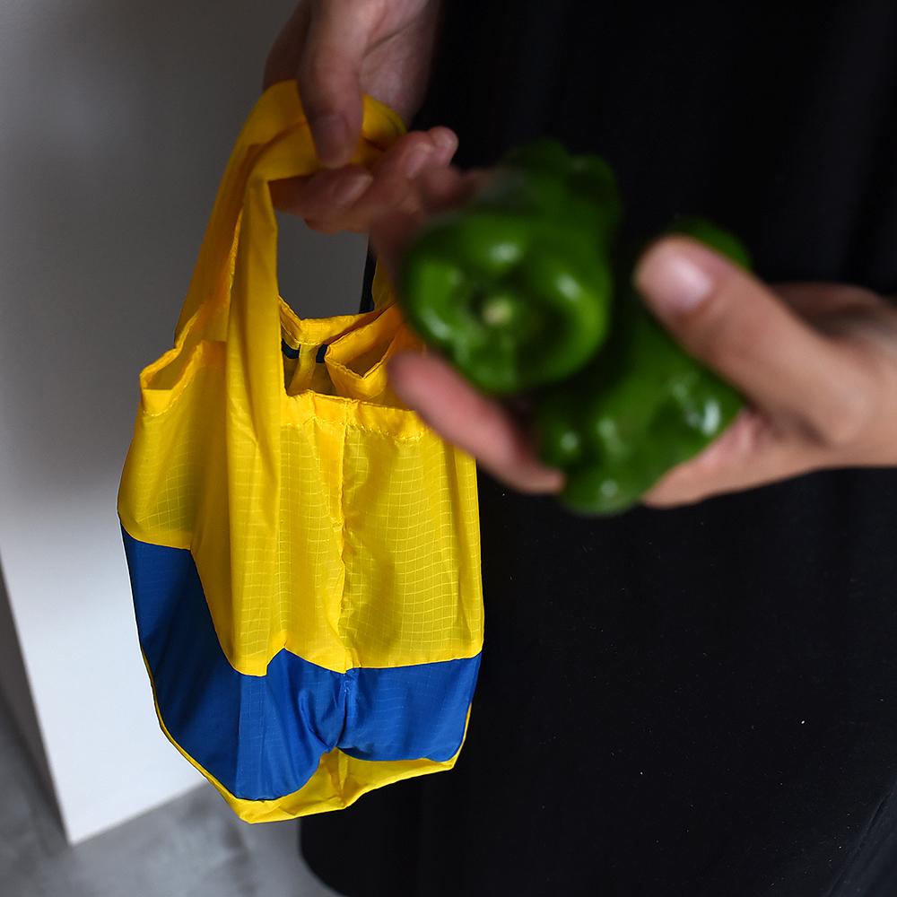 スーザンベル S エコバッグ ショッピングバッグ 折り畳み 小さい 男性 コンパクト コンビニ